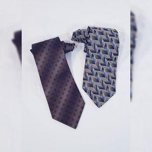Kenneth Cole & Perry Ellis Neck Tie Bundle